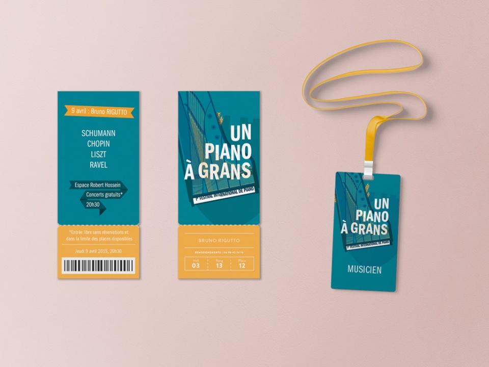 Tickets et badges du Festival
