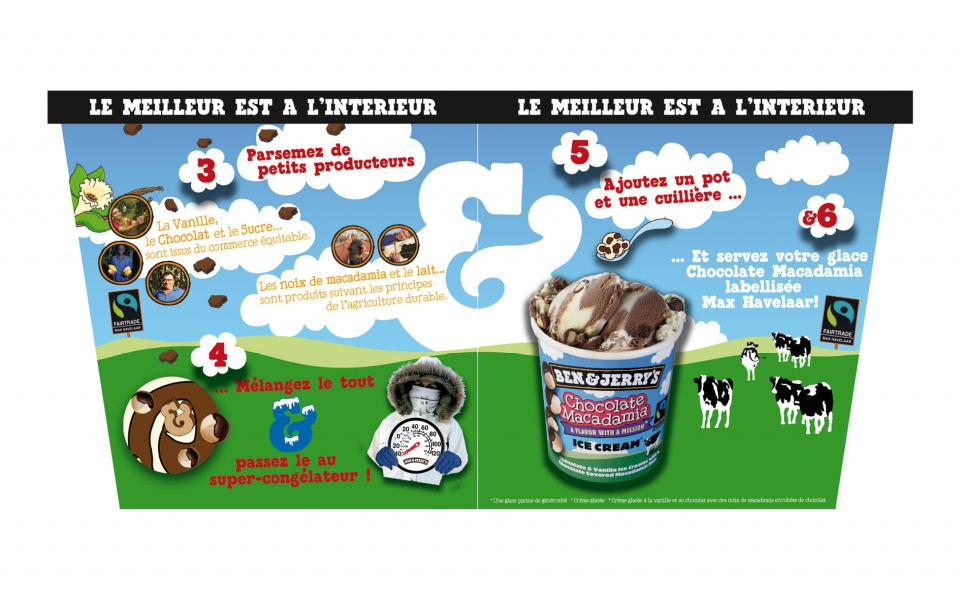 BEN&JERRY'S Chocolate Macadamia