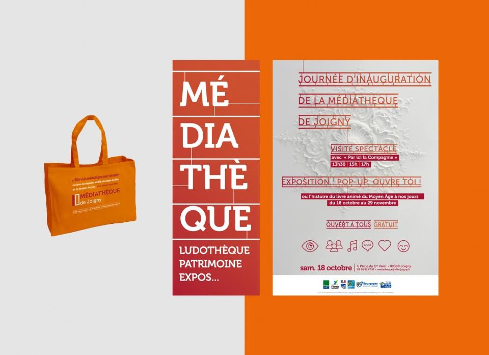 Médiathèque de Joigny - 89  - 2014