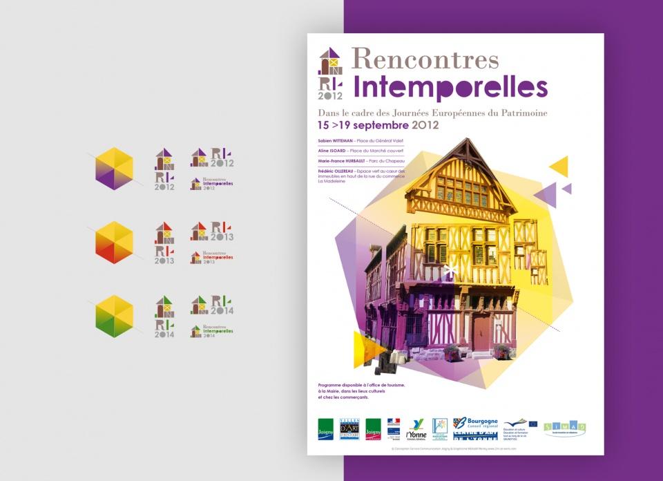 Les Rencontres Intenporelles (événement artistique et culturel de la vilel Joigny - 89) 2012/14