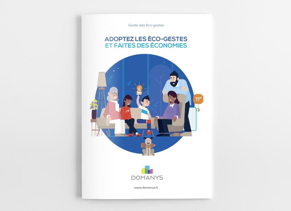 couverture brochure A5 domanys