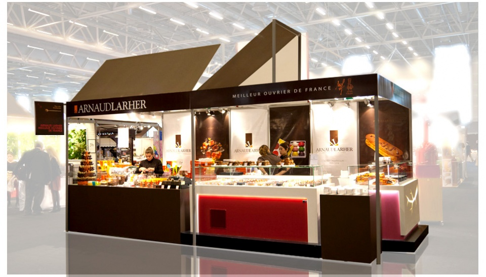 Stand Salon du Chocolat Paris A.Larher