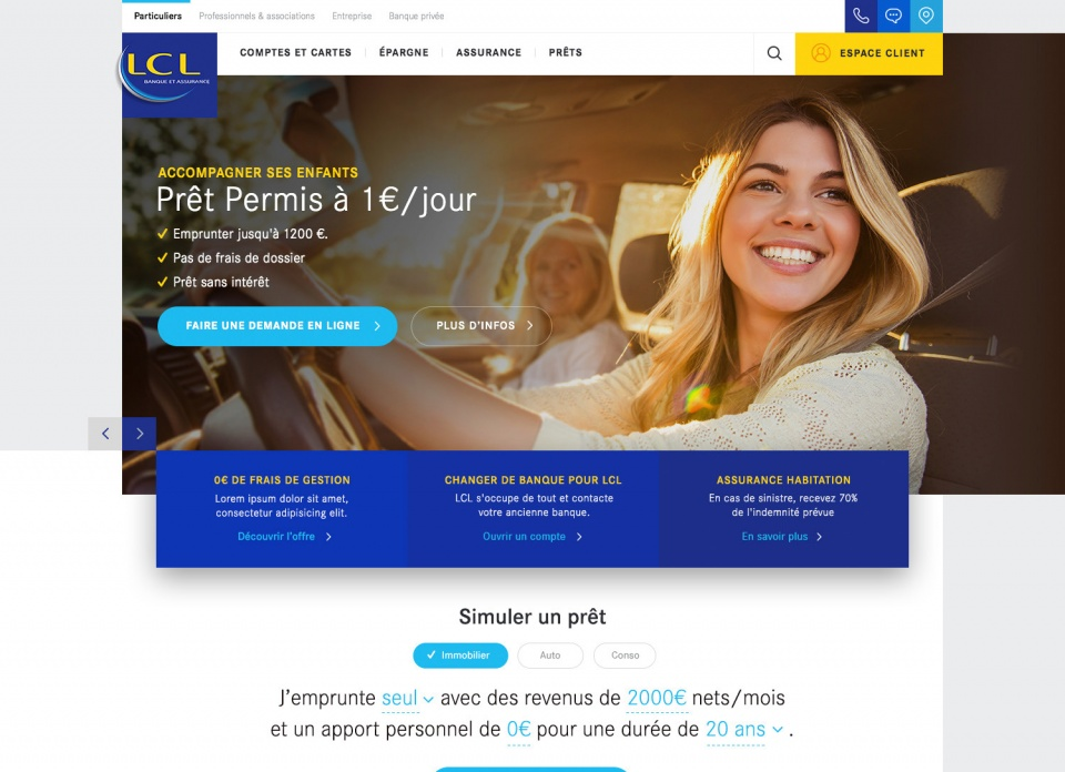 Homepage LCL 1