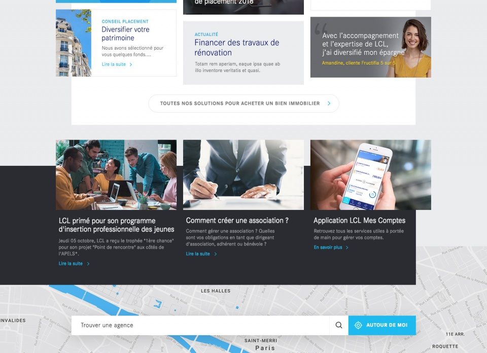 Homepage LCL Suite
