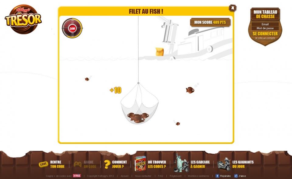 Trésor - Mini-jeux #07