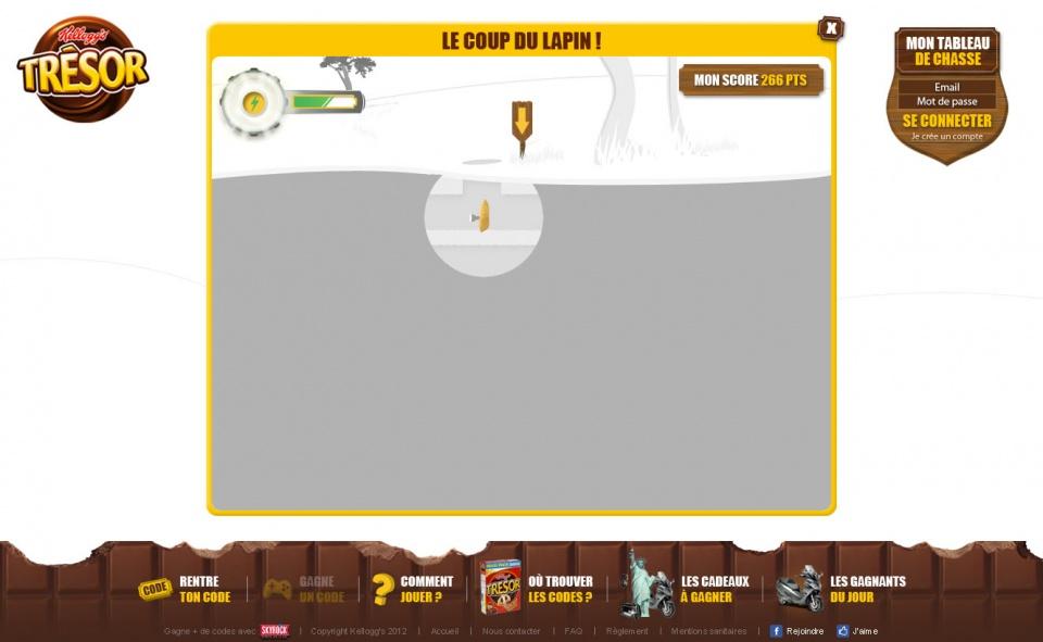 Trésor - Mini-jeux #08