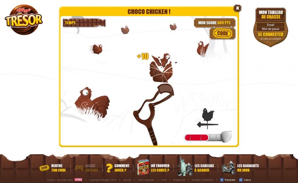 Trésor - Mini-jeux #04