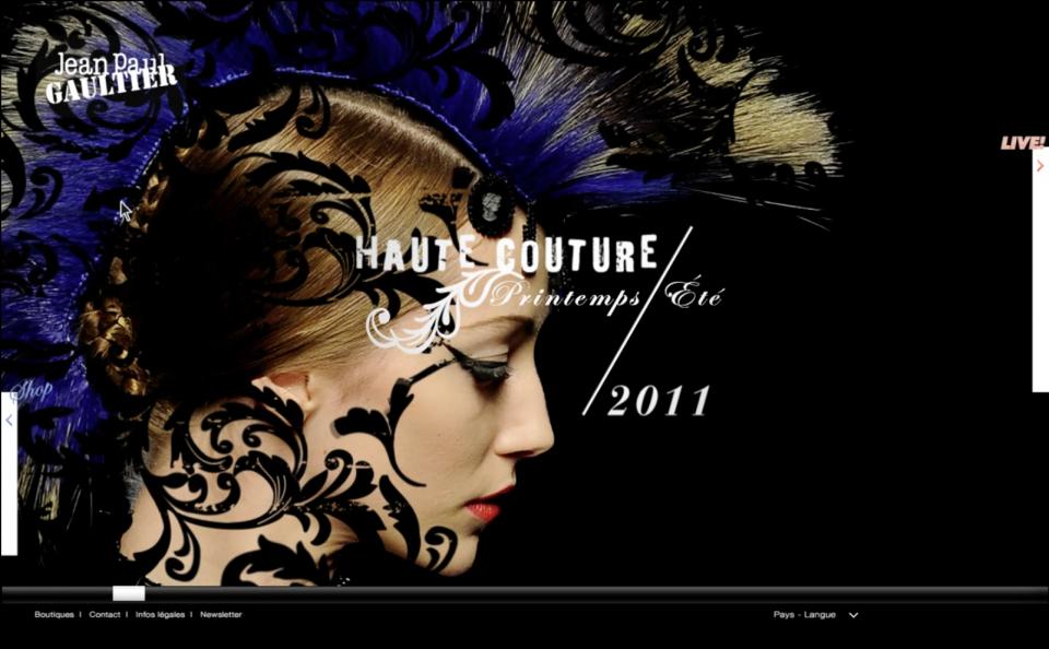 Site Jean Paul Gaultier #04