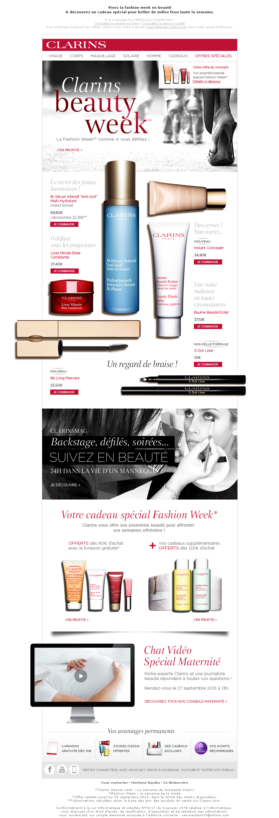 Newsletter Beauty Week
