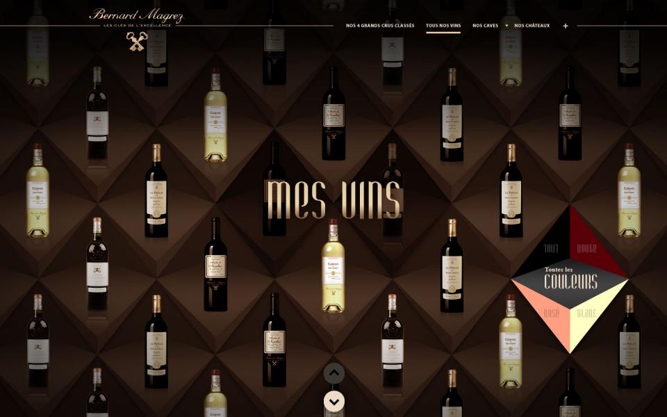 Selection des vins