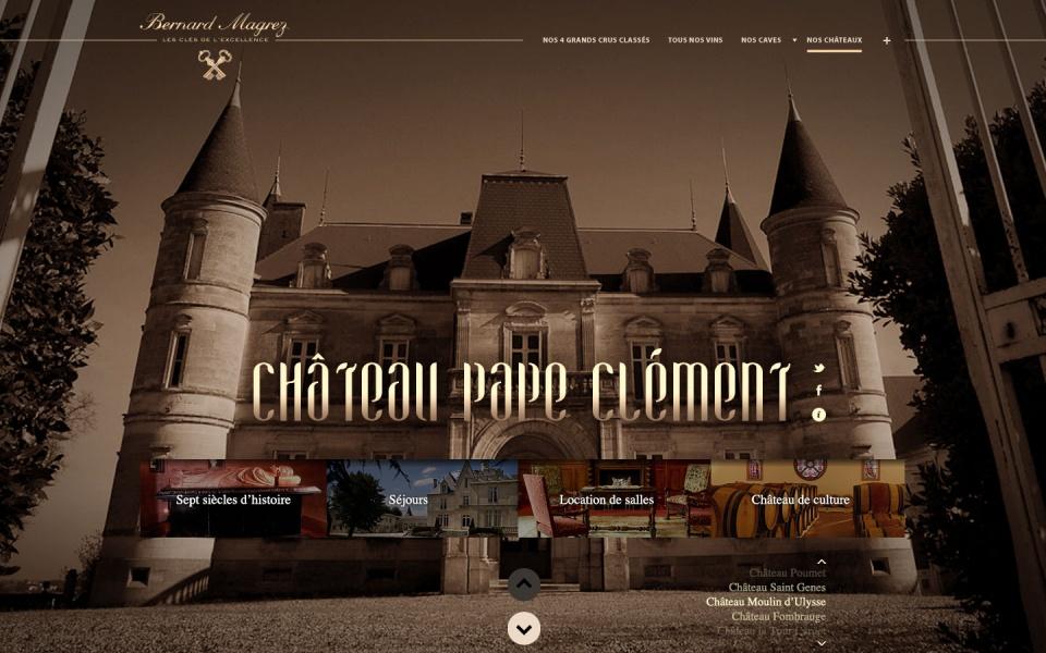 Pages des Chateaux