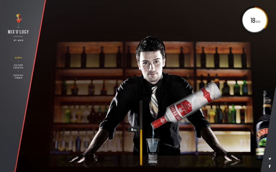"""La juste dose"" suivant les alcools"