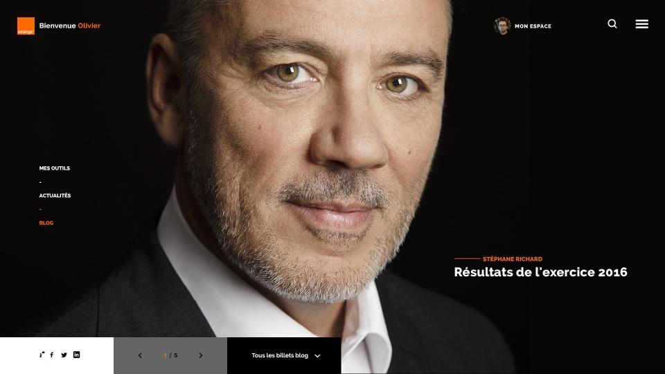 Homepage - Blog