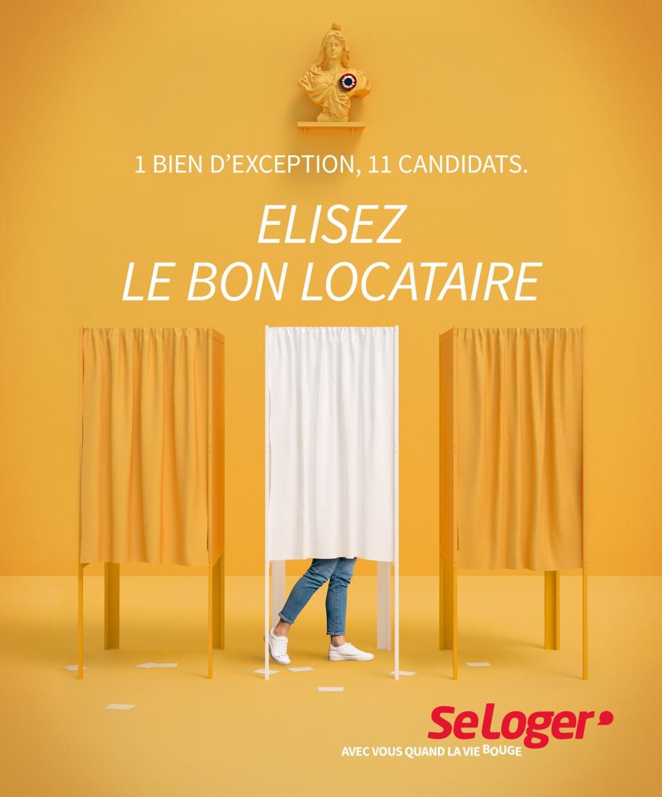 visuel ISOLOIR - SE LOGER.COM
