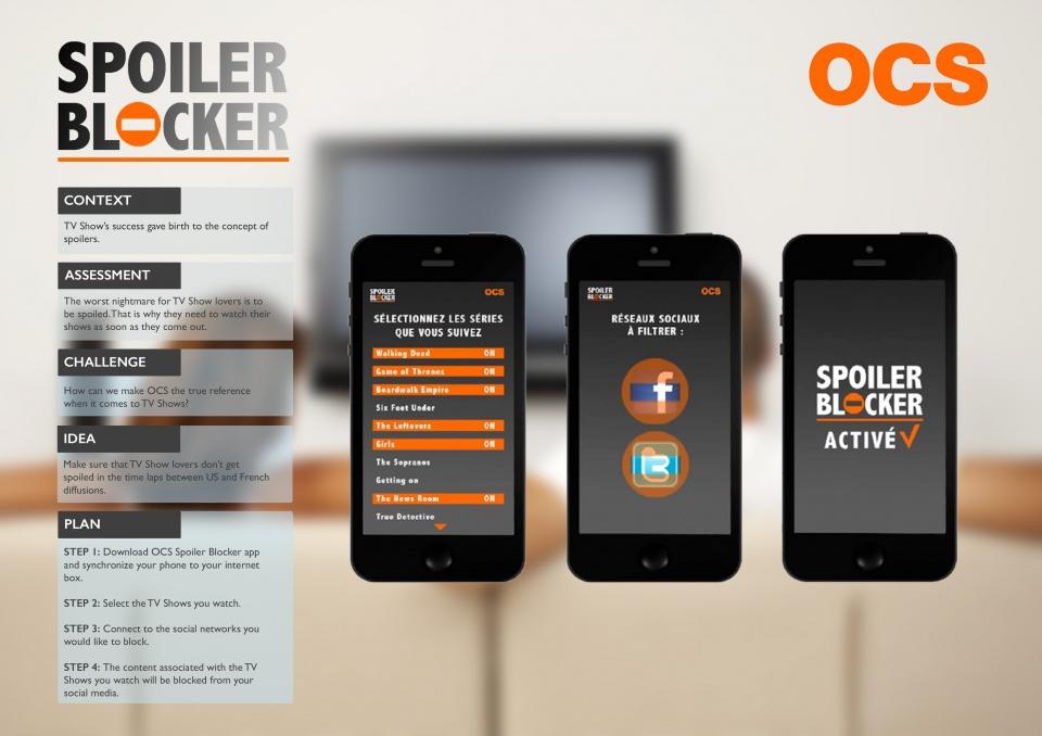 Spoiler Blocker - OCS