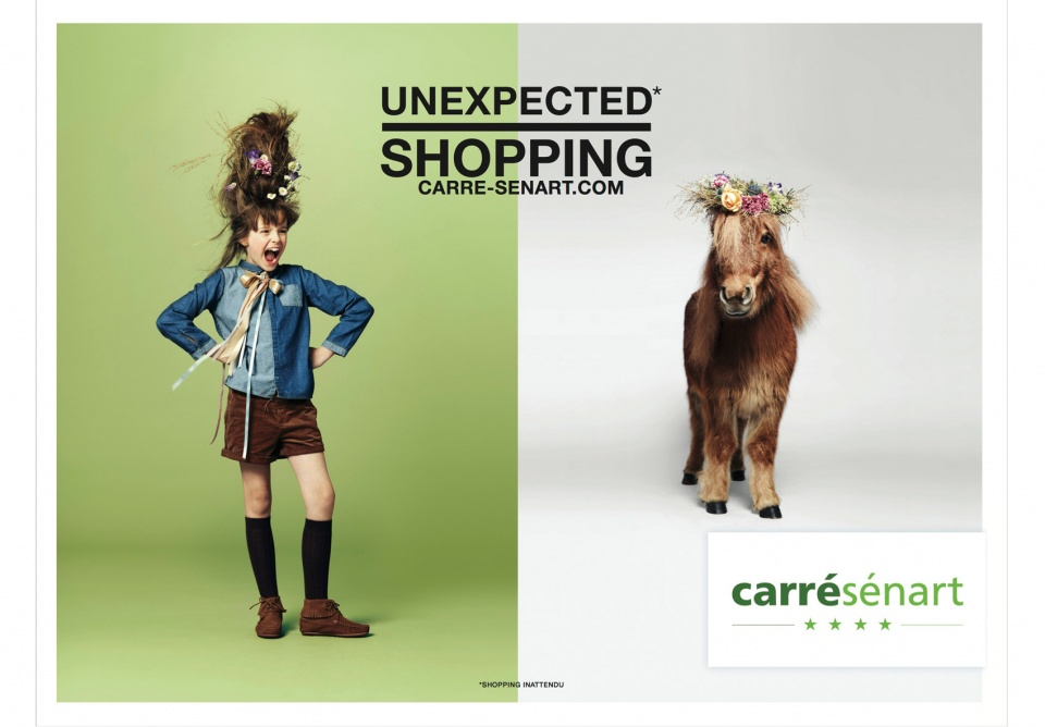 Campagne d'affichage pour Carré-Senart