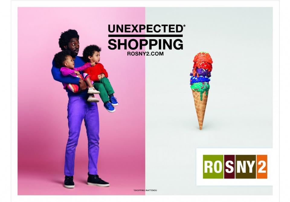 Campagne d'affichage pour Rosny 2