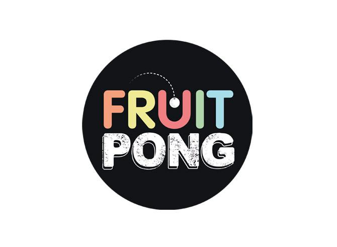 """Logo """"Fruit Pong"""""""