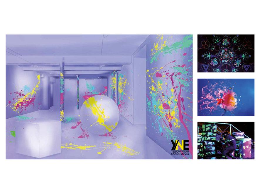 Exemple de lieu insolite crée pour l'occasion : Pollock'Mania