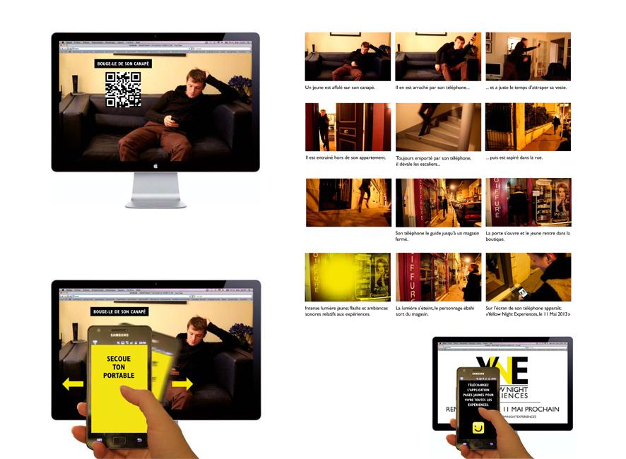 Teaser vidéo interactif