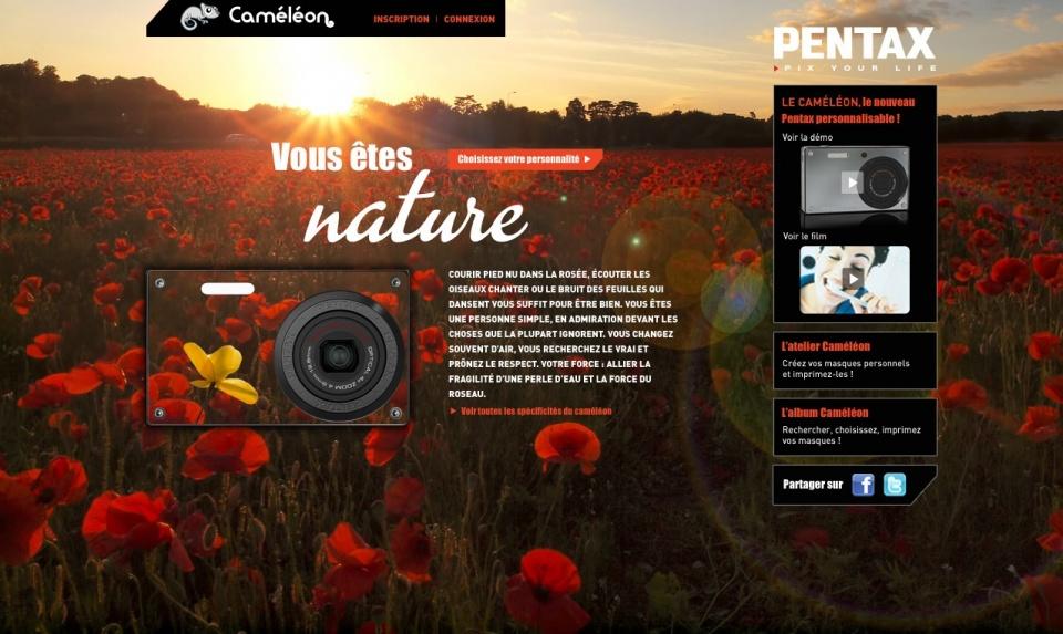 Pentax Caméléon - Nature