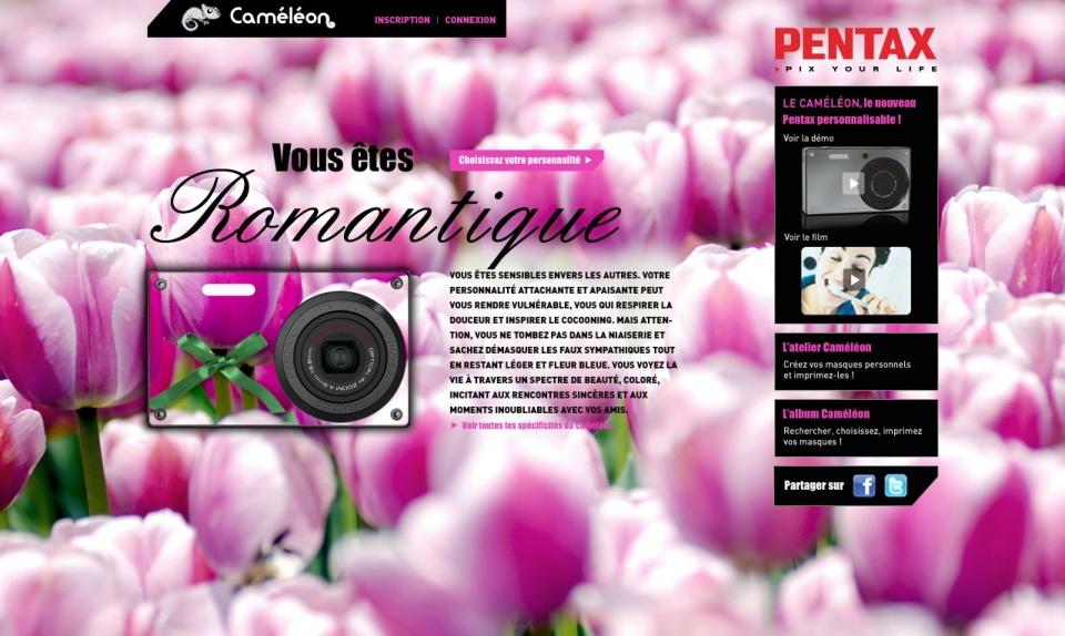 Pentax Caméléon - Romantique
