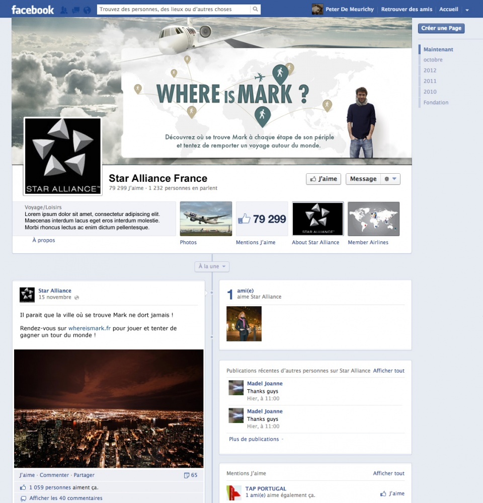 Where is Mark - Facebook