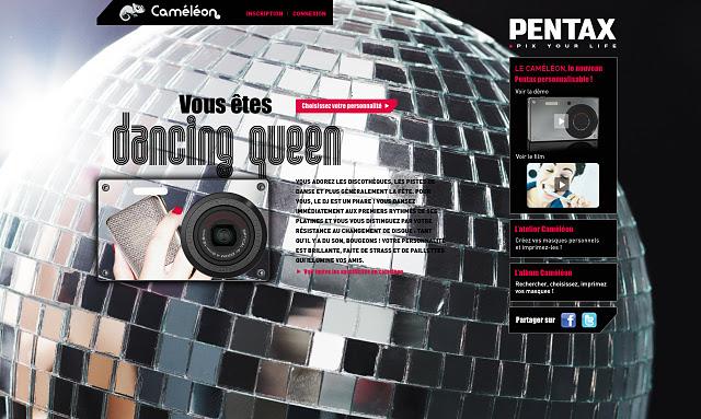 Pentax Caméléon - Disco
