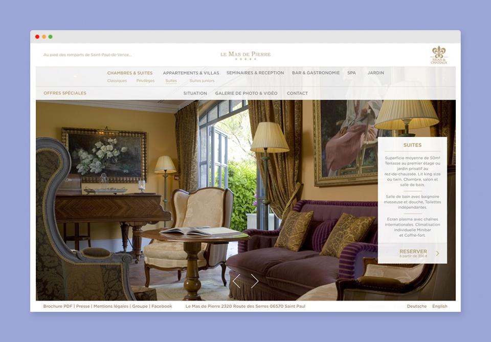 Chambres & Suites lemasdepierre.com