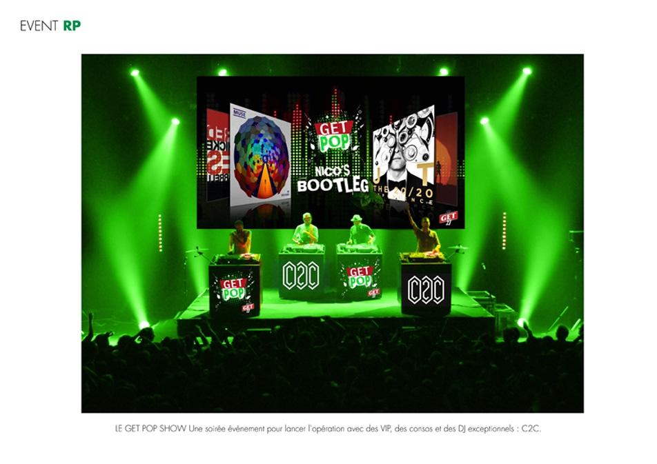 Get pop / Event / jeux concours