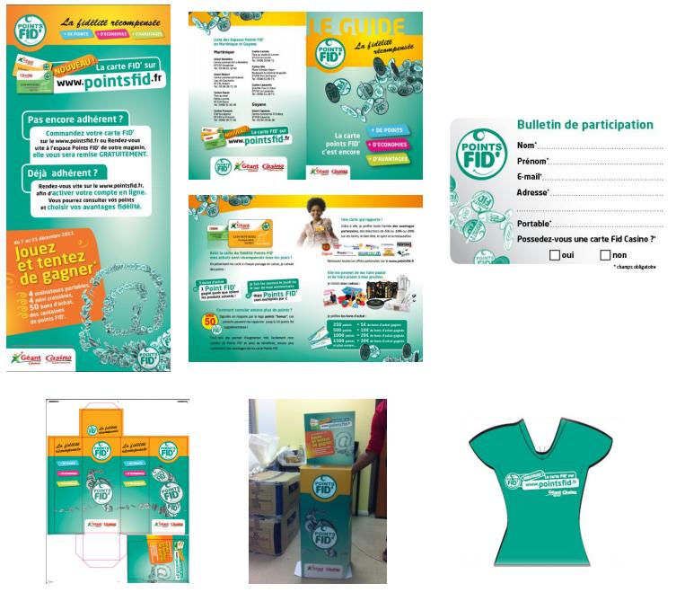 lancement site internet : FID et Géantcasino