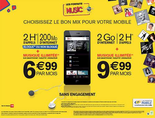emailing pour  La poste mobile