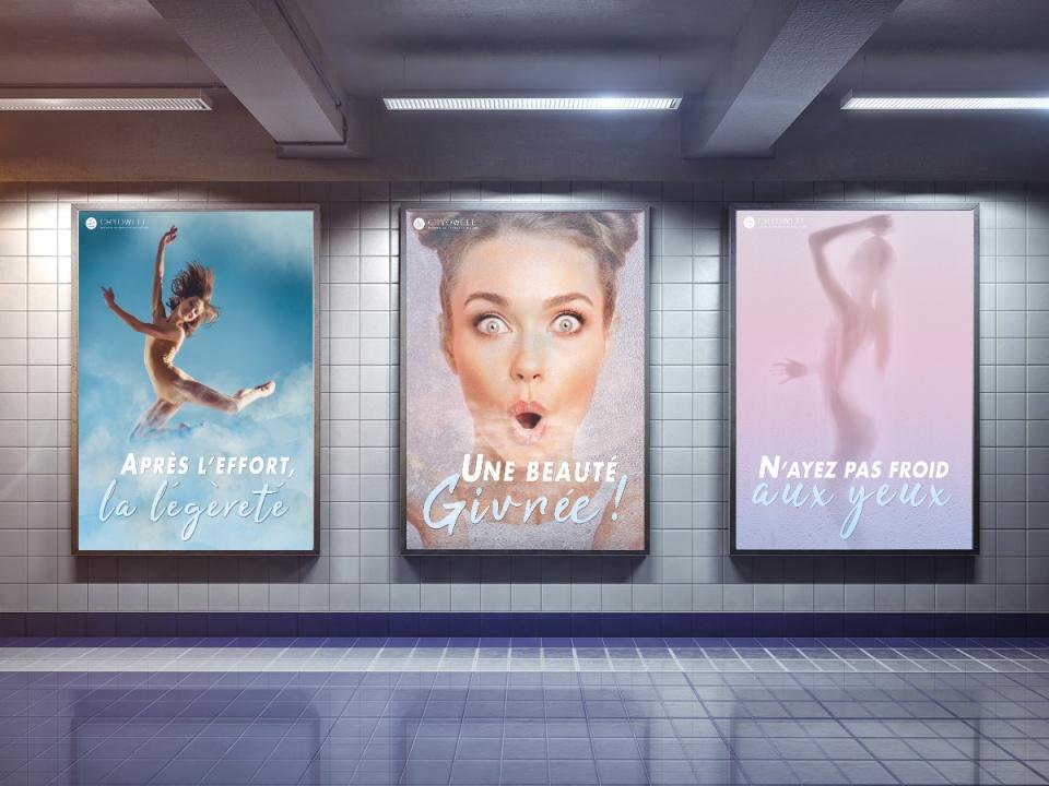 Cryowell campagne print