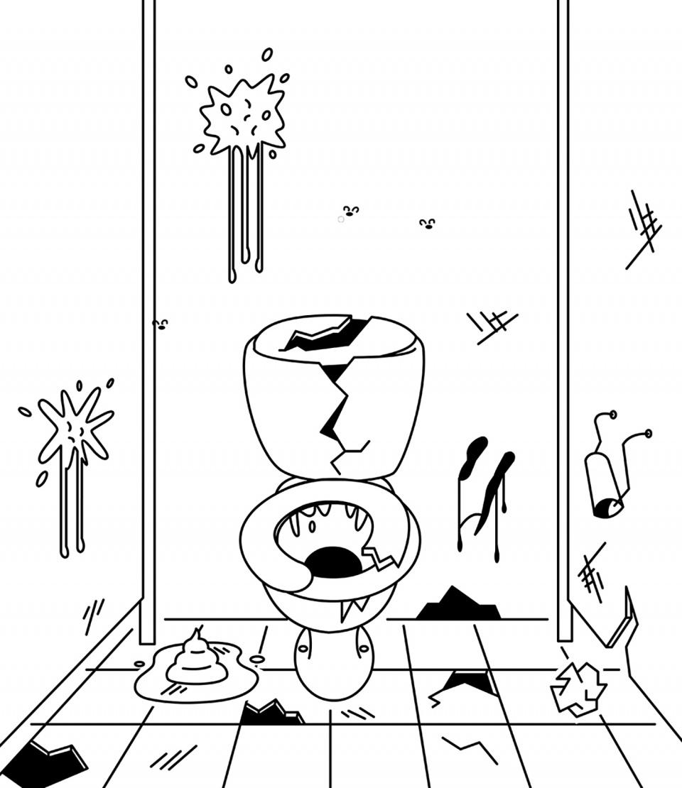 Schule Illustration 7