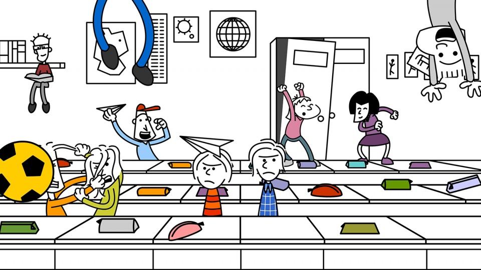 Schule Illustration 8