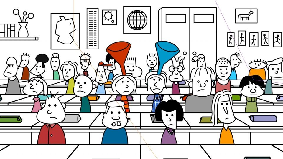 Schule Illustration 4