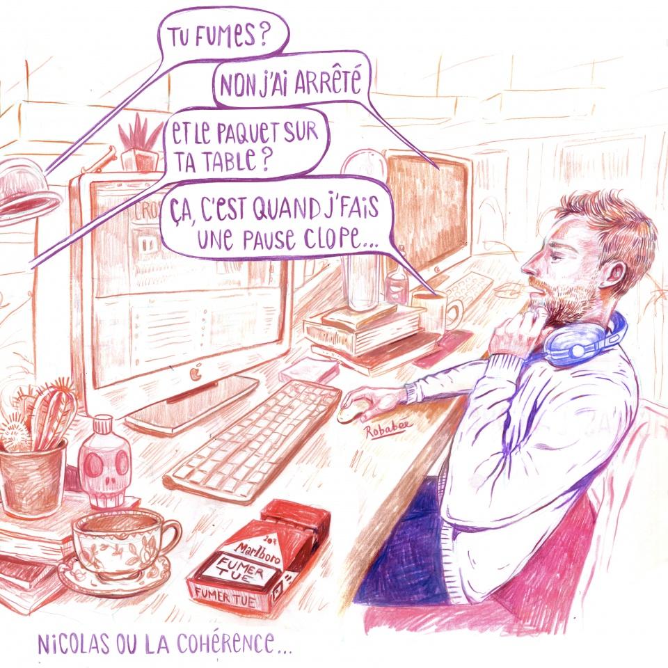 Nicolas ou la cohérence...