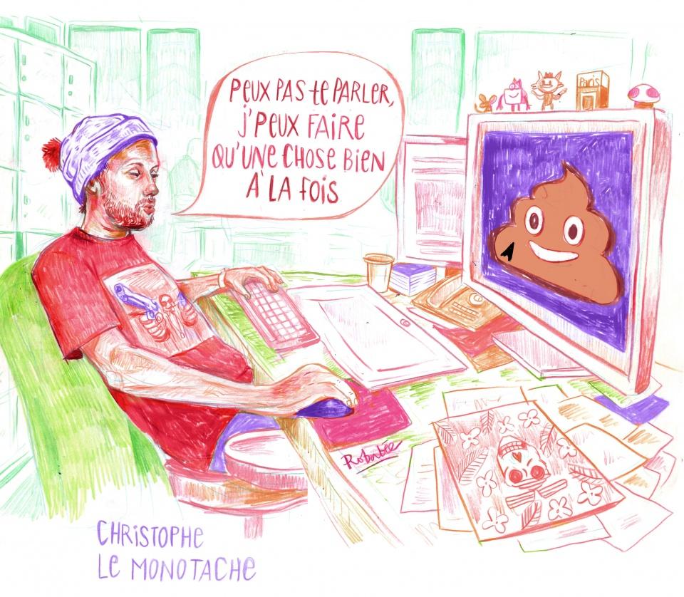 Christophe - Le Monotache
