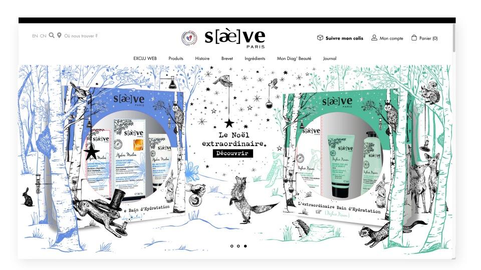 slider website