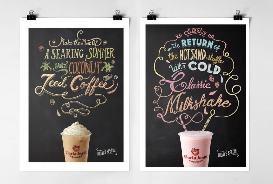 iced coffee and Milkshake