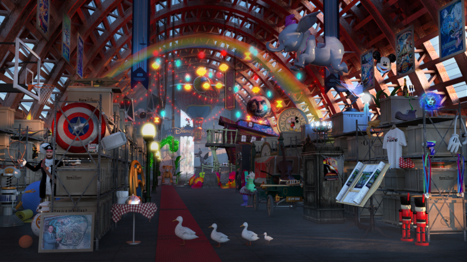 Disney Land Paris The vault 1er periode