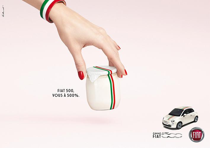 Fiat 500 : italienne