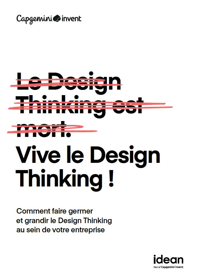 Design Thinking le livre couv