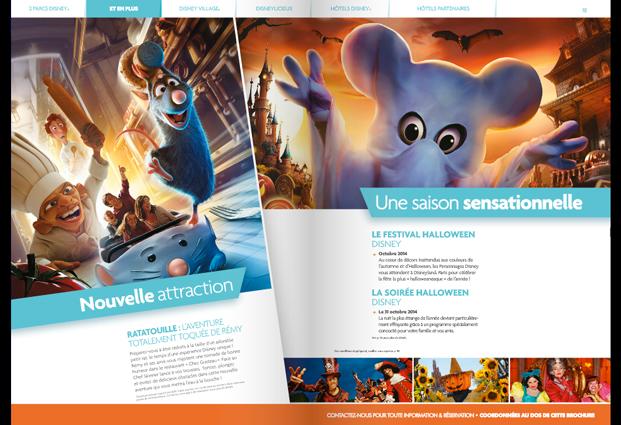 Brochure Disneyland Paris