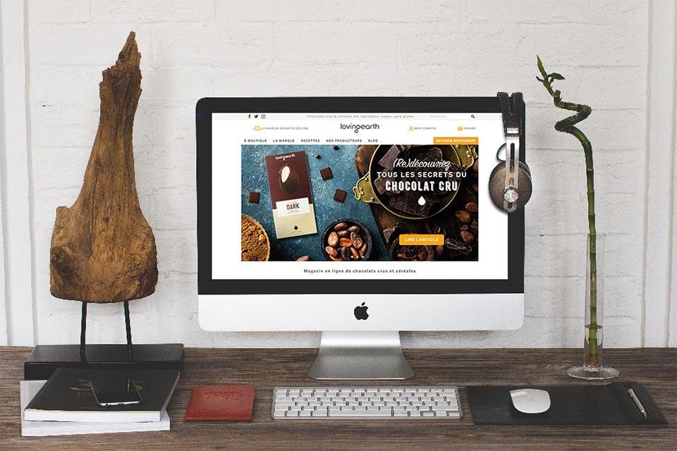 Webdesign lovingearth.fr