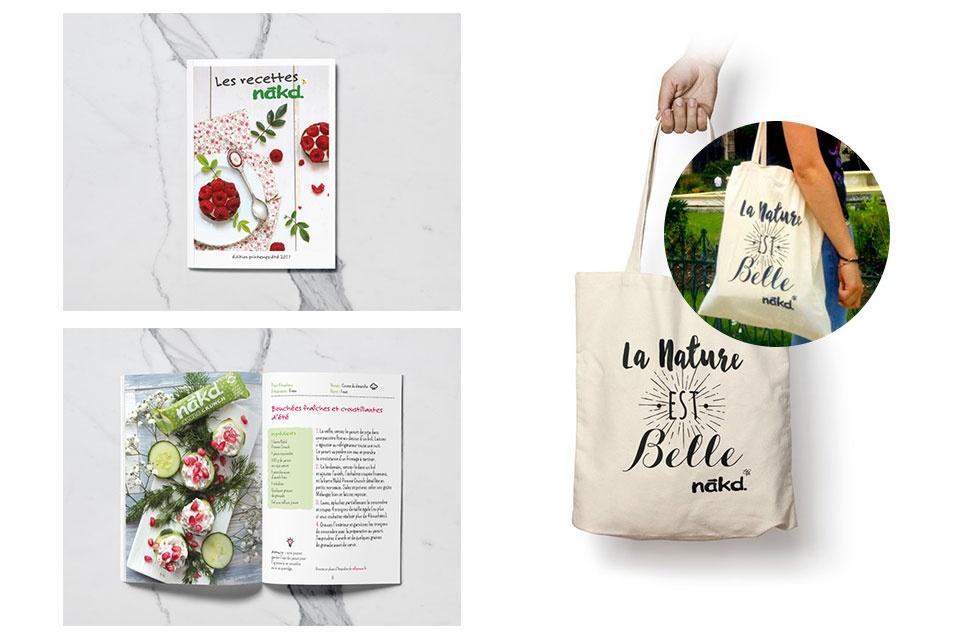 Communication Print : Tote Bag et Livret Recette