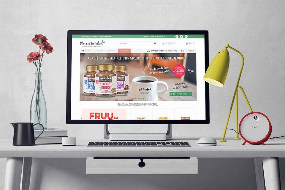 Webdesign de placealanature.com