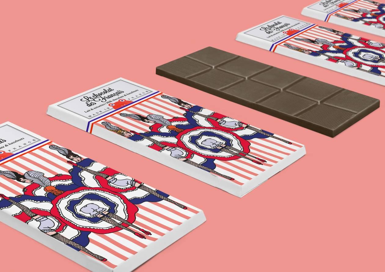 Packaging Le chocolat des Français