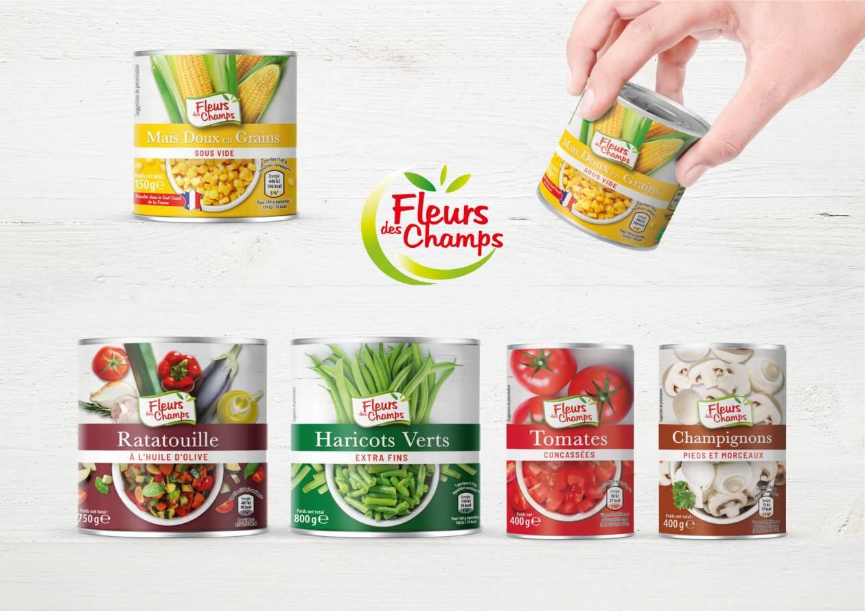 Packaging Fleurs des Champs