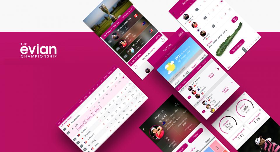 Evian app 01
